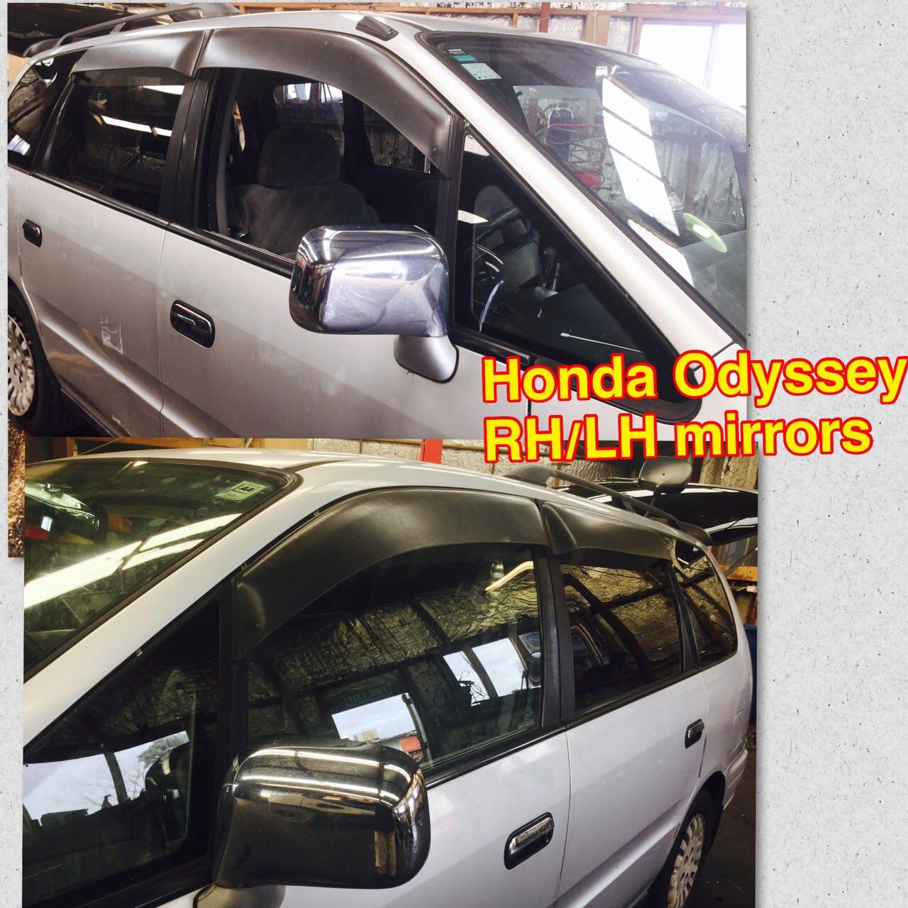 Honda Odyssey (RHLH Mirrors)