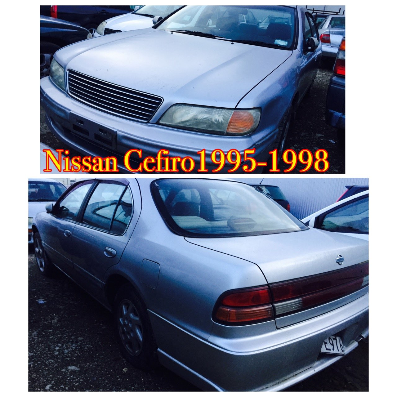 Nissan Cefiro 95 and 98